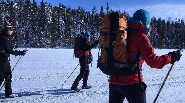 Debra Ireland Arctic Challenge on the lake